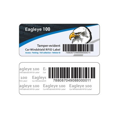 CE33144 UHF windshield/tyre label