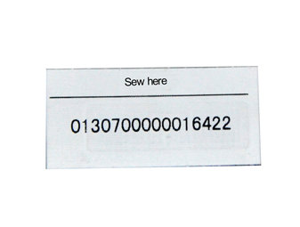 CE34109 Fabric label