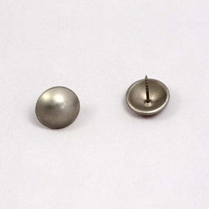 P08 - Large Dome Steel Pin