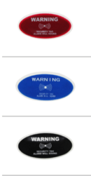 ST402_7035 - AM sticker label w/text