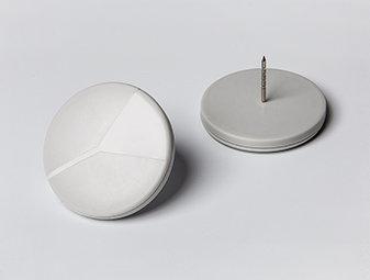 T823 UHF pin (round)